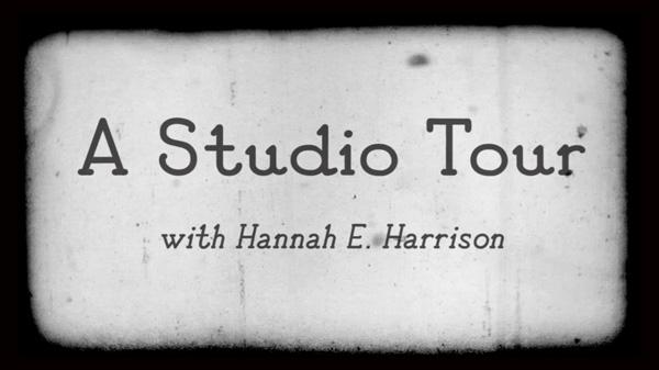 Hannah Harrison Studio Tour